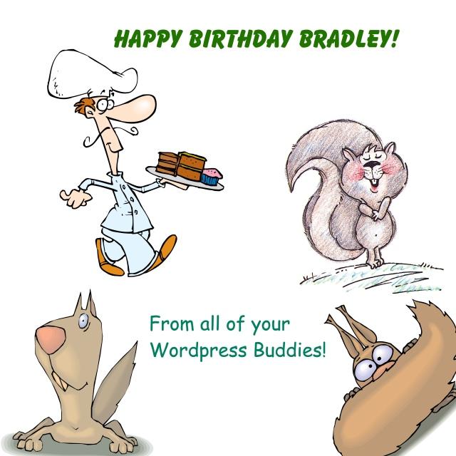 brad bday