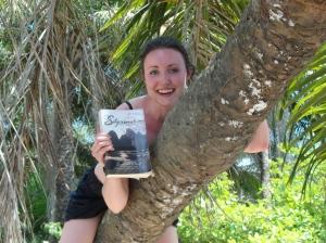 Guinea, West Africa - Climbing a Palm Tree (4)